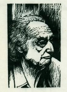 Έκτωρ Κακναβάτος, ξυλογραφία