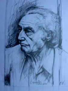 Έκτωρ Κακναβάτος, σχέδιο μολύβι