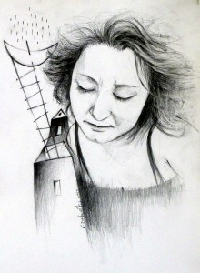 Μαργαρίτα Βασιλάκου, σχέδιο μολύβι